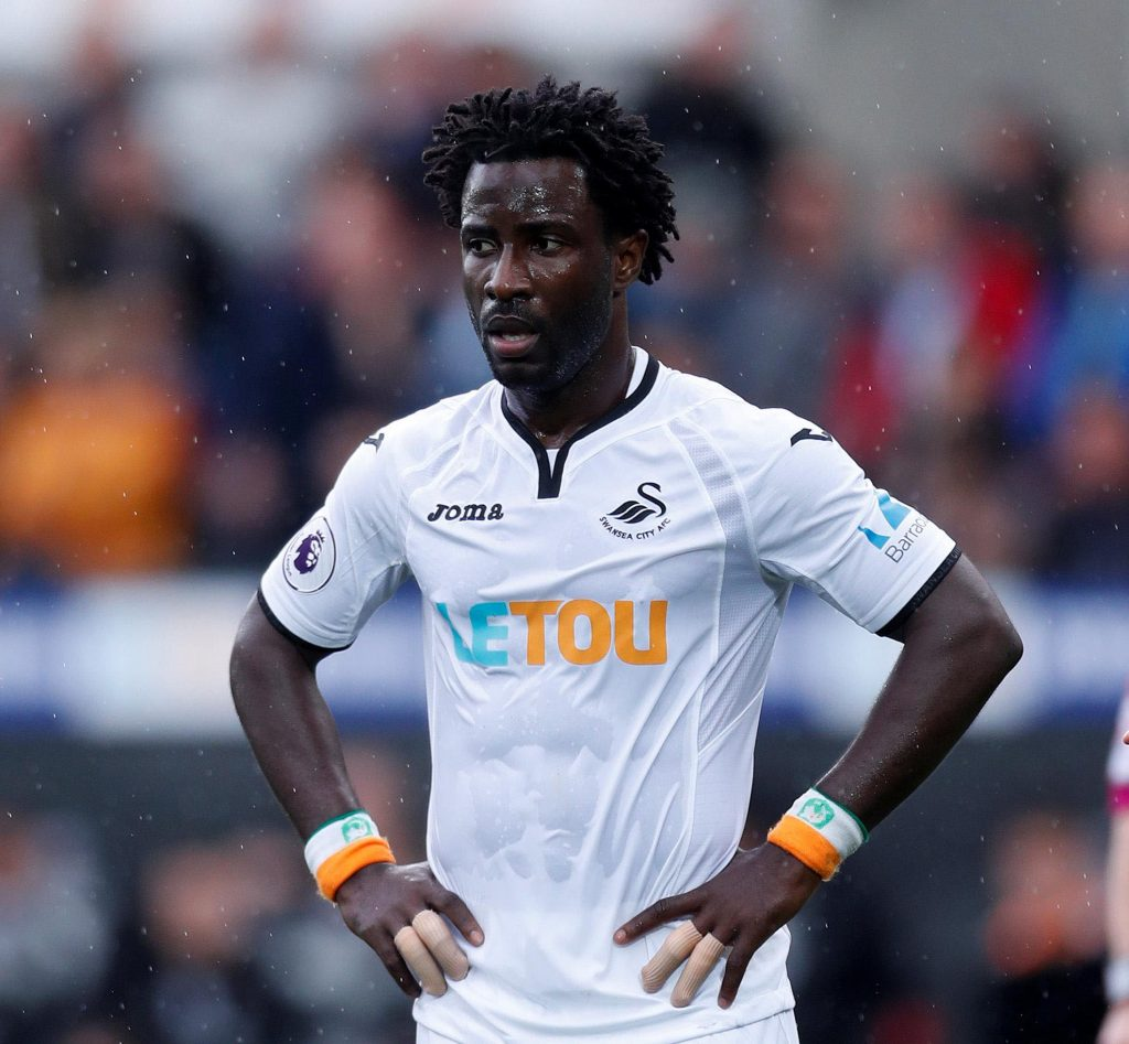 Wilfried Bony Swansea Football Club