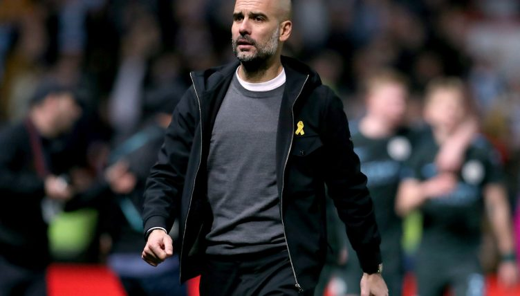 Manchester City don't need another striker - Pep Guardiola