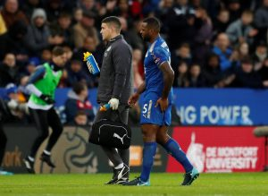 Claude Puel has confirmed that Leicester defender Wes Morgan is facing a spell out of action because of a hamstring injury.