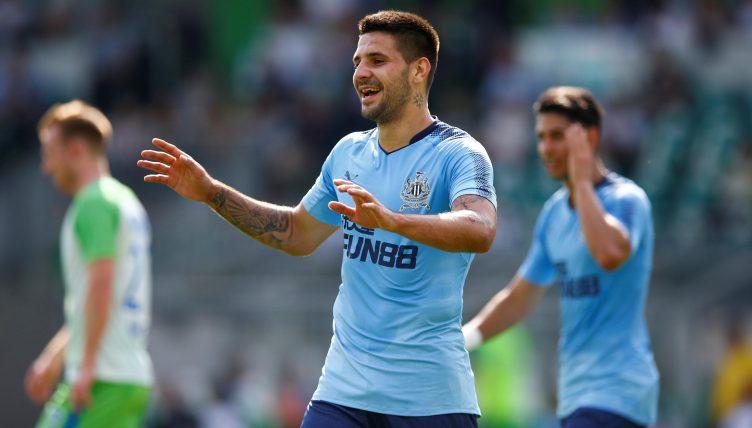Brighton and Hove Albion have bid rejected for striker Aleksandar Mitrovic
