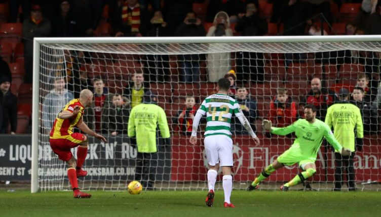 Rodgers hails strikers as sub Griffiths sinks Thistle