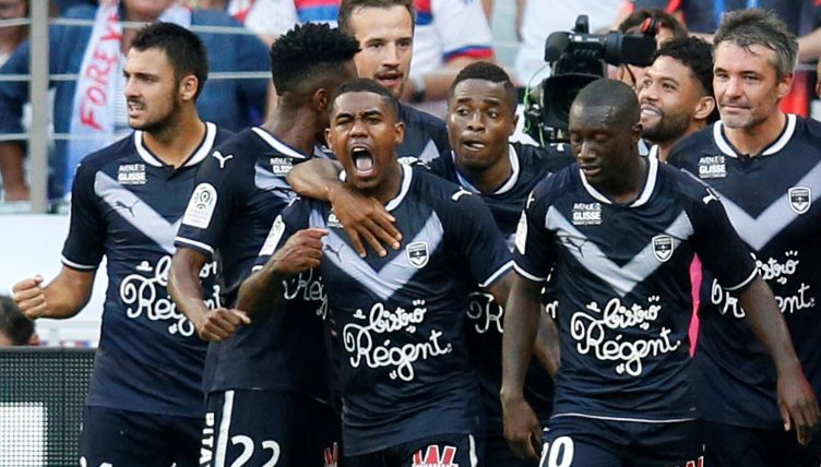 Reported Arsenal target Malcom starts for Bordeaux vs Caen