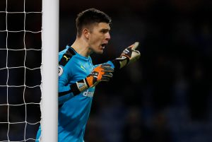 Goalkeeper Nick Pope says he's not felt nervous during his run in the Burnley team and he's just determined to enjoy the experience.