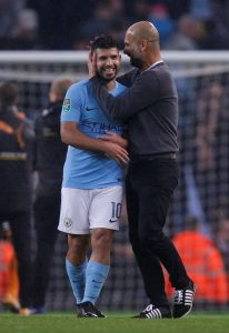 Sergio Aguero insists he wants to stay at Manchester City until his contract expires in 2020, but the club will decide his future.