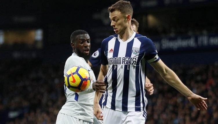 Jonny Evans could leave West Brom for £3m