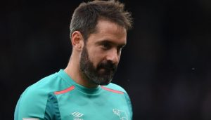 Derby goalkeeper Scott Carson