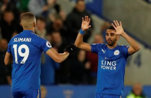 Leicester boss Claude Puel will speak to Riyad Mahrez about his future after the winger starred in the Foxes' win over Huddersfield.