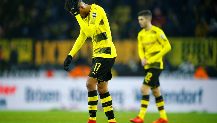 Dortmund hit out at Wenger over Aubameyang