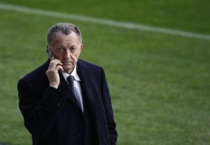 Lyon president Jean-Michel Aulas could listen to offers for Cherki.