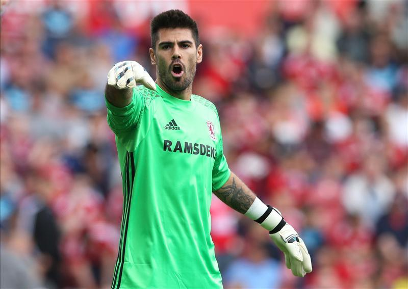 236871ea7 Middlesbrough boss Aitor Karanka feels keeper Victor Valdes is starting to  hit top form after an indifferent start.