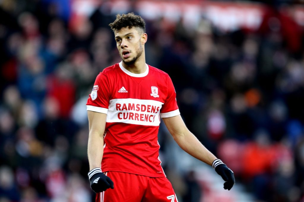 Middlesbrough striker Rudy Gestede has vowed to return stronger after undergoing surgery to repair his fractured ankle.