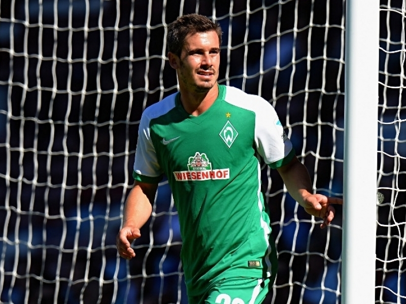 Werder Bremen striker Fin Bartels is over the moon after signing a new two-year contract with the Bundesliga outfit on Wednesday.