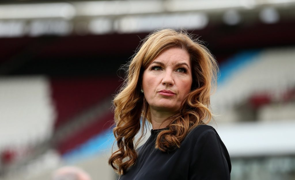 Karren Brady has issued a public apology for West Ham's problems on and off the pitch, and said the board takes full responsibility.