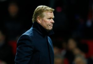 As Ronald Koeman prepares his Holland side for their friendly clash with England on Friday he says he is over his Everton sacking.