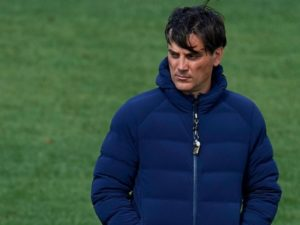 Sevilla boss Vincenzo Montella downplayed his side's chances of making the last four of the Champions League following the 2-1 defeat to Bayern Munich, but said he still believed they could turn it around.
