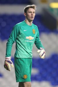Stoke City remain near the front of the queue of clubs interested in Shrewsbury's on-loan Manchester United goalkeeper Dean Henderson.