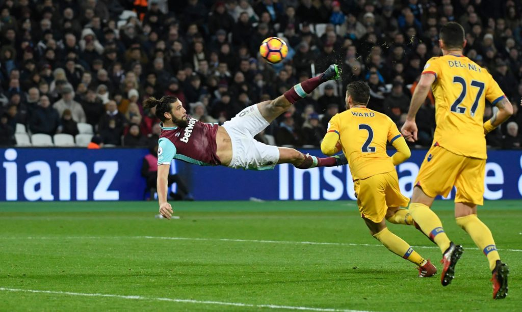 Andy Carroll is reportedly in line to make his latest comeback for West Ham in their clash with Stoke City on Monday evening.