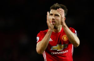 Carrick manchester united retiring Captain