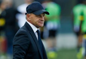 Beppe Iachini could be on his way out of Sassuolo after their owner Giorgio Squinzi said his style of play doesn't suit the squad.