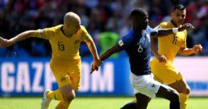 France Pogba scores