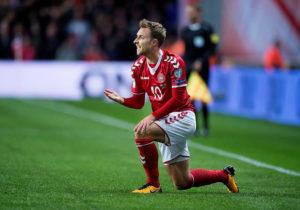Denmark payer Eriksen