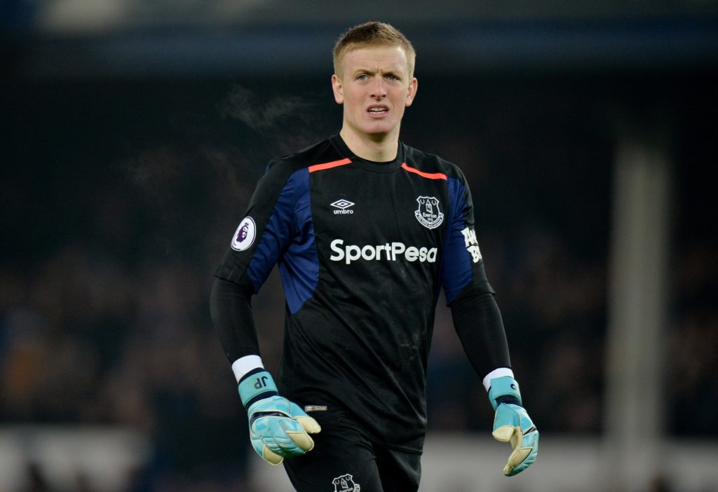 a2d55f6f6c8 Pickford made to wait on England jersey | ClubCall.com