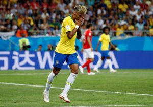 Serbia 0-2 Brazil