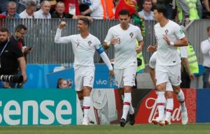 Portugal 1-0 Morocco Ronaldo