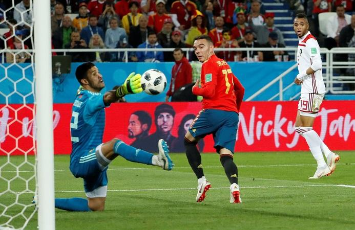 Spain 2-2 Morocco
