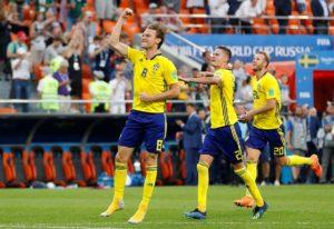 Mexico 0-3 Sweden