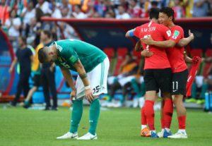 South Korea 2-0 Germany