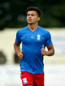 Birmingham have allowed young defender Dominic Bernard to join Aldershot on a six-month loan deal.