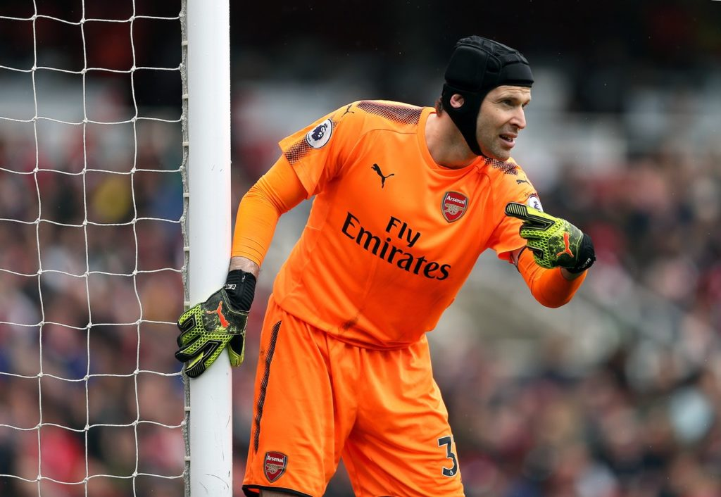 f78882b67 Petr Cech is ready to battle for his place and has told Bernd Leno he needs