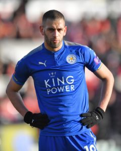 Islam Slimani is reportedly edging closer to leaving Leicester City following reports of a loan offer from Fenerbahce.