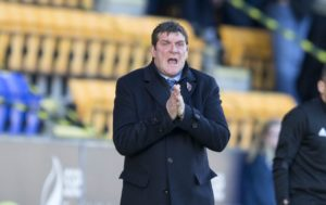 Tommy Wright has set his sights on the 10-point mark to see St Johnstone into the next round of the Betfred Cup.