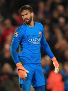 Alisson is making his way to Liverpool to undergo a medical after AS Roma agreed to cash in on the player.