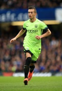 Swansea have completed the signing of Kosovo international midfielder Bersant Celina from Manchester City.