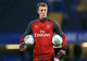 Plymouth have signedgoalkeeper Matt Macey on a season-long loan from Arsenal, the Sky Bet League One club have announced.