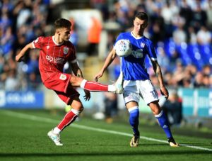 Swansea City are closing in on the signing of Manchester City midfielder Bersant Celina, reports claim.