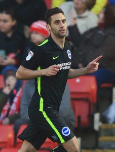 Reading have signed striker Sam Baldock from Brighton for an undisclosed fee.