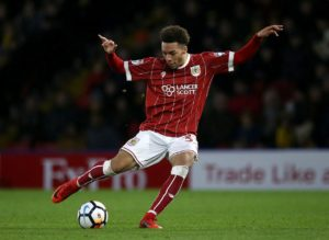 Bristol City striker Freddie Hinds heads a list of nine players loaned out by the Sky Bet Championship club.