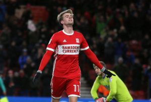 Leeds have signed striker Patrick Bamford from Sky Bet Championship rivals Middlesbrough for an undisclosed fee.