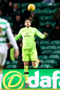 Craig Gordon is back in the Celtic squad and could feature in Wednesday's Champions League first qualifying round clash with Alashkert.