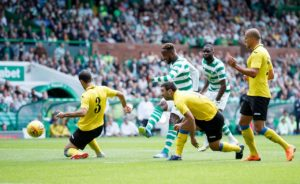Brendan Rodgers hopes Moussa Dembele's tight leg is not a cause for concern after his brace in Celtic's 3-0 home win over Alashkert.