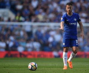Cesc Fabregas has revealed he's doing his best to try and convince Eden Hazard to stay at Chelsea amid interest from Real Madrid.