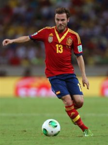 Juan Mata is hoping to earn an international recall with Spain following the appointment of Luis Enrique as manager.