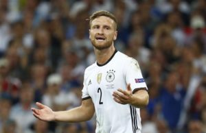Germany defender Shkodran Mustafi insists his side will miss Mesut Ozil but stands by his decision to retire from the national team.