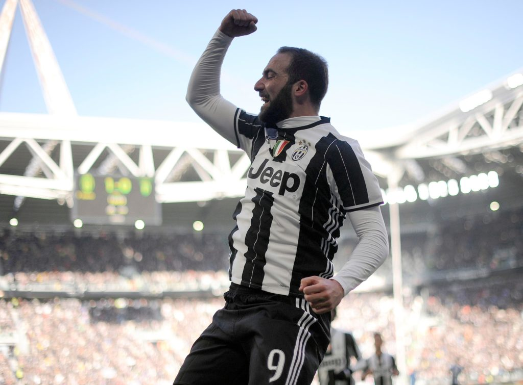 Tottenham have reportedly entered the race to sign Juventus striker Gonzalo Higuain but face competition from Chelsea.