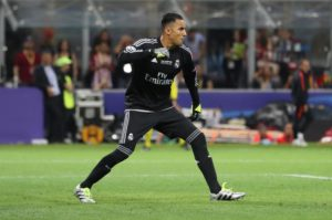 Keylor Navas insists he is not worried about the continued speculation linking other goalkeepers with moves to Real Madrid.