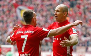 Franck Ribery and fellow Bayern Munich star Arjen Robben are still hungry for success and ready for action.